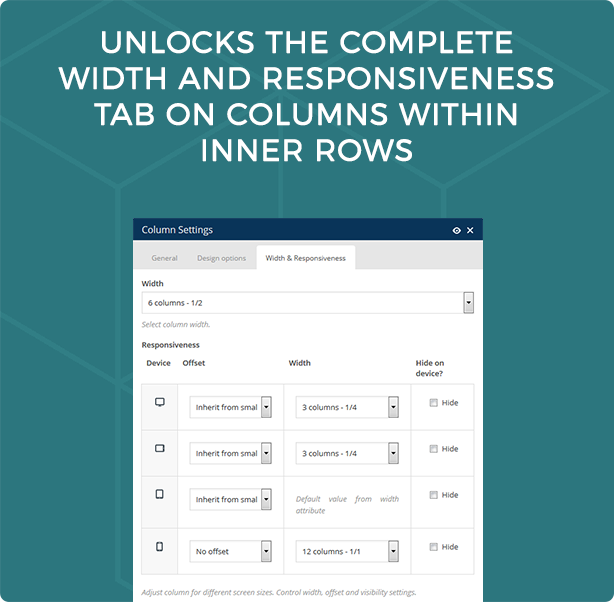 Visual Composer Responsive Inner Columns and Rows 2